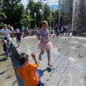 Evenimentele dedicate Zilei internaționale a Copiilor — 1 iunie, sunt programate pentru ziua de sâmbătă,5 iunie